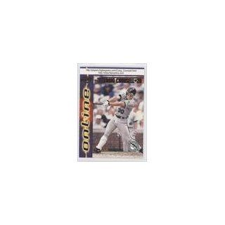 Counsell (Baseball Card) 1998 Pacific Online Red #292 Collectibles