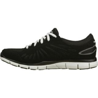 Womens Skechers Gratis Messengers Black/White
