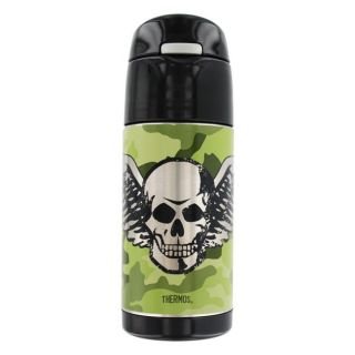 Thermos TherMax FUNtainer Beverage Bottle, Cool Skull Camo, 12 Ounce
