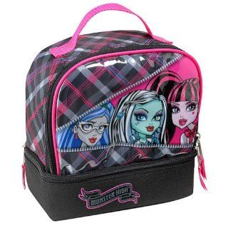 Monster High Zipper Sisters insulated lunch tote Toys
