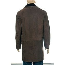 Aston Spanish Merino Mens Shearling Coat