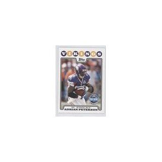 PB Adrian OU Peterson (Football Card) 2008 Topps #298 Collectibles