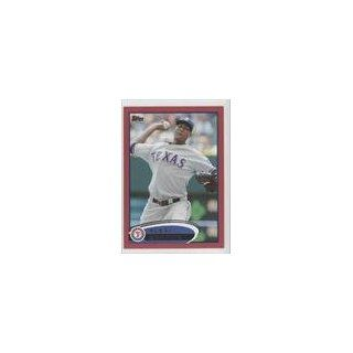 Ogando Texas Rangers (Baseball Card) 2012 Topps Target Red Border #301