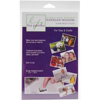 Lisa Pavelka Waterslide Transfer Set Blank