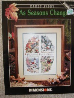 Counted Cross Stitch Pattern   Dimensions #303 Karen Avery Books