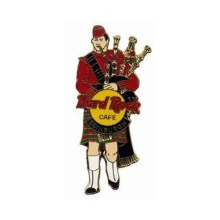 Hard Rock Cafe Pin 2375 Edinburgh Bag Piper in Red