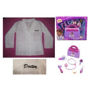 Disney Doc McStuffins Doctors BAG Playset plus COAT