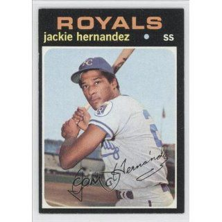 Jackie Hernandez Kansas City Royals (Baseball Card) 1971