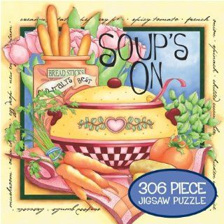 Soups On by Joy Hall Jigsaw Puzzle 306pc Toys & Games
