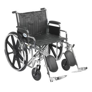 Sentra Bariatric EC Heavy duty Wheelchair with Detachable Desk Arms