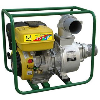 Amico 4 Inch Gasoline Semi Trash Water Pump
