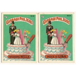 Cards 8th SERIES 323 a & b Wedding Bella Piece o Lisa Everything Else