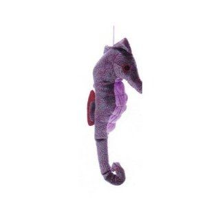 Aurora Plush Purple Seahorse Toys & Games