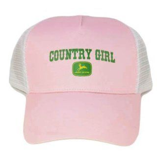 JOHN DEERE COUNTRY GIRL PINK MESH ORIGINAL HAT CAP NEW