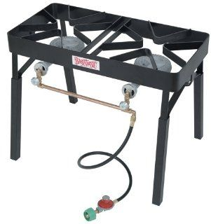Bayou Classic DB325 Double Burner Outdoor Patio Stove with