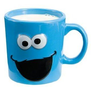Cookie Monster Sculpted Sesame Street Coffee MUG 12oz