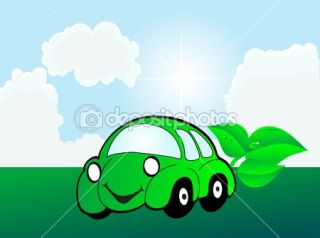 Cartoon car  Stock Vector © Sarka Pistekova #2421030
