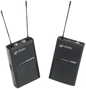 Azden Compact On Camera UHF Wireless Lapel Mic System