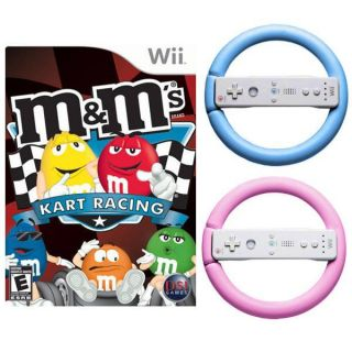 Kart Racing & 2 Wheels for Wii   Blue & Pink