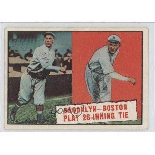 26 Inning Tie/Joe OeschgerL/Leon Cadore Brooklyn Dodgers
