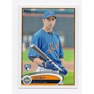 2012 Topps #335 Josh Satin RC New York Mets Rookie Card