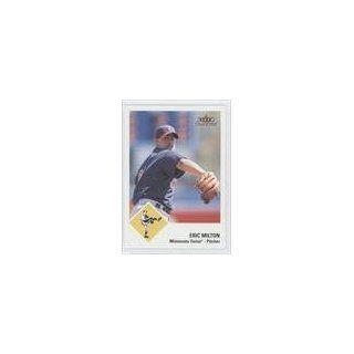 Eric Milton Minnesota Twins (Baseball Card) 2003 Fleer Tradition #329