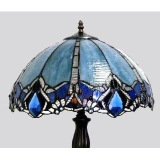 Tiffany Style Stained Glass Table Lamp VL640: Home