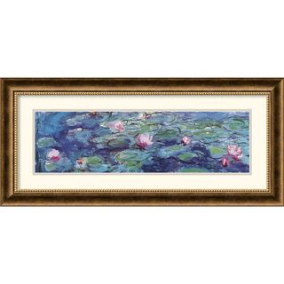 Claude Monet Waterlillies Framed Art Print