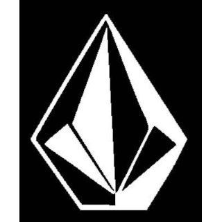 Giant VOLCOM White Vinyl Car Sticker/Decal Everything