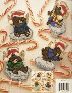 Plastic Canvas Candy Cane Bears (878906): Annie Potter