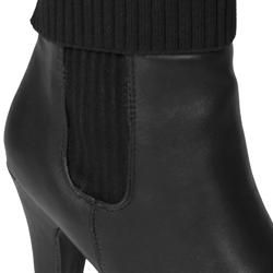 Journee Collection Womens Verde 07 Sweater Top Ankle Boot
