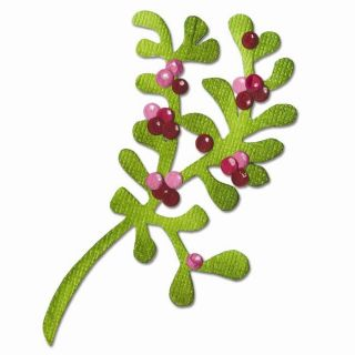 Sizzix Originals Mistletoe Die