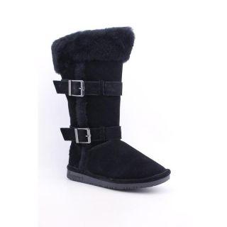 Bearpaw Womens Lydia Blacks Boots