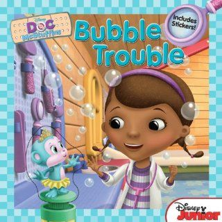 Doc McStuffins: Bubble Trouble: Includes Stickers!: Disney