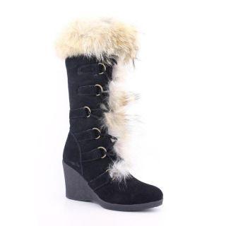Bearpaw Womens Anja Blacks Boots