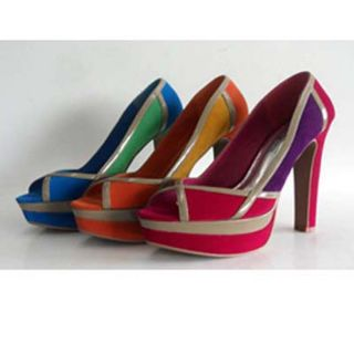 Journee Collection Womens Lust Open Toe Multi color Pumps