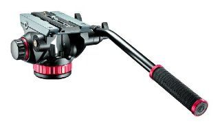 Manfrotto MVH502AH Pro Fluid Video Neiger mit flacher