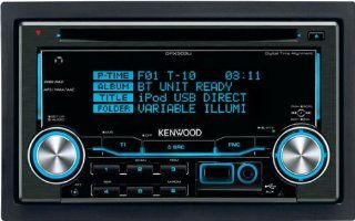 Kenwood DPX 503 U CD MP3 Tuner (Doppel DIN, Bluetooth ready, Apple