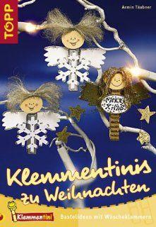 Klemmentinis zu Weihnachten: Bastelideen mit Wäscheklammern: