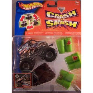 Hot Wheels B4012   Monster Jam® Crash & Smash Sortiment