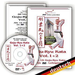 Goju Ryu Kata Vol.1+2 auf einer DVD, Alle 18 Goju Ryu Kata im DVD