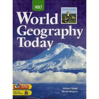 World Geography Today National Student Edition Grades 9 12 2008