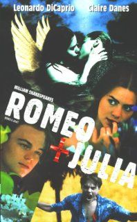 William Shakespeares Romeo & Julia [VHS] Leonardo DiCaprio, Claire