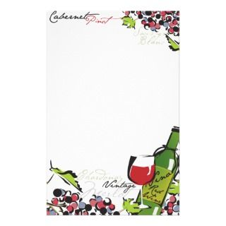 Wine Lover Stationery