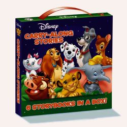 Disney Carry Along Stories 6 Volume Boxed Set
