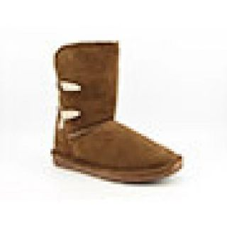 Bearpaw Womens Abigail Brown Boots (Size 10)