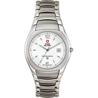 Swiss Military Mens White Academy Watch Model # 06 5082 04 001