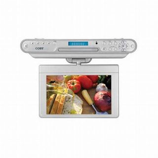 Cabinet DVD/CD Player with Digital TV and AM/FM Radio