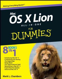 Mac OS X Lion All in One for Dummies (Paperback)