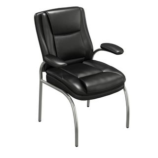 Mayline Ultimo 600 Series Eco Leather Executive Guest Chair